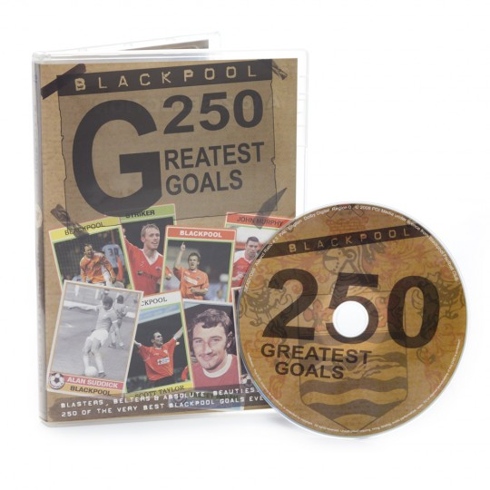 250 Greatest Goals DVD