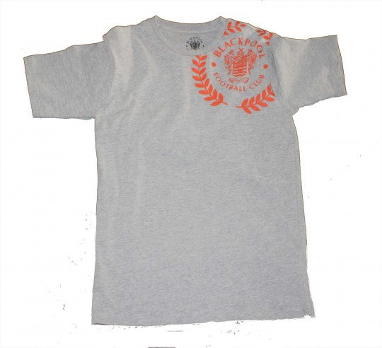 Adult T Shirt Laurel Crest Grey