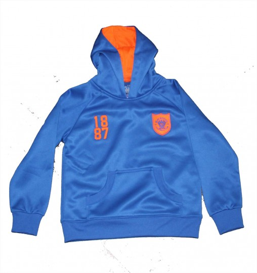 Junior Hoodie 1887 Royal Blue