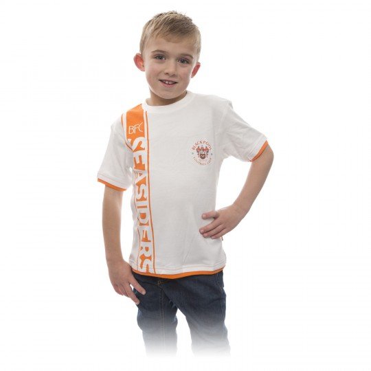 Junior T Shirt BFC Seasiders White