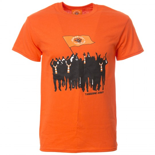 Flag T Shirt Tangerine