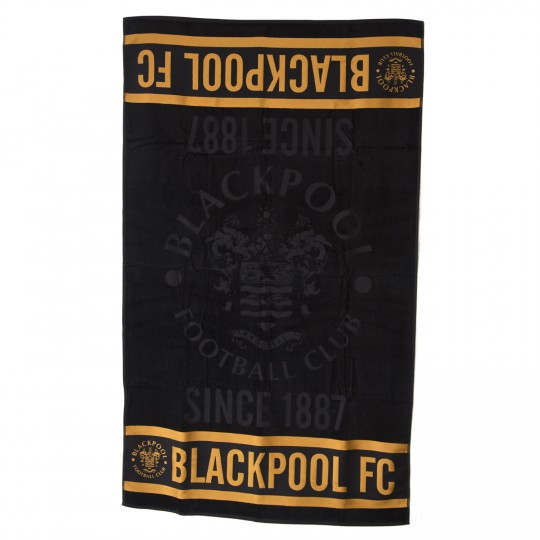 Blackpool FC Large Luxury Beach/Bath Towel