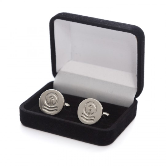 Cufflinks Tower Chrome