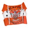 Blackpool FC Crest Flag with Top Ties