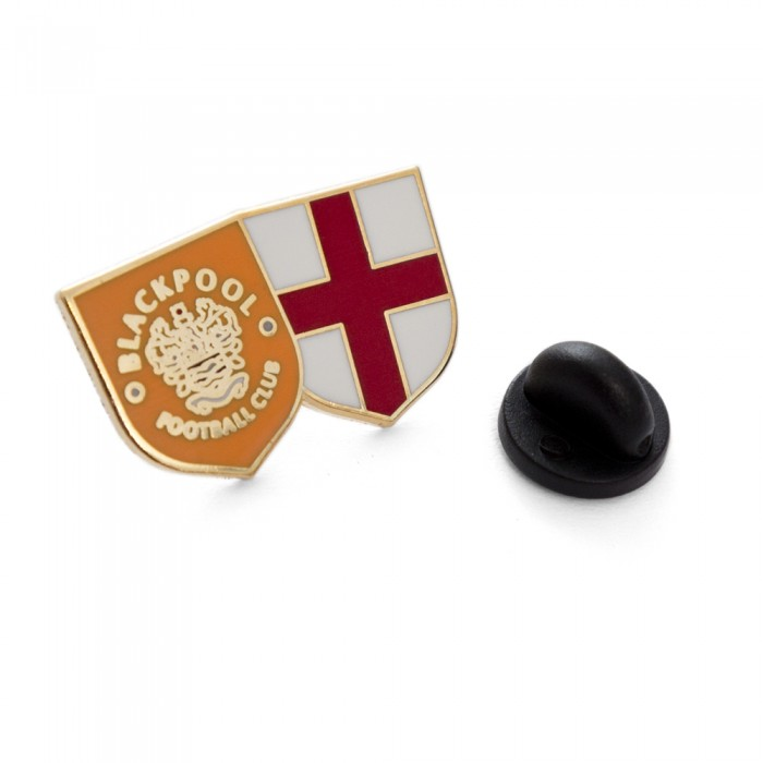 Blackpool/England Pin Badge