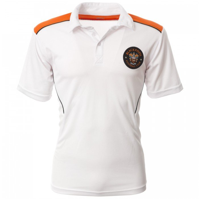 Volt Junior Polo White