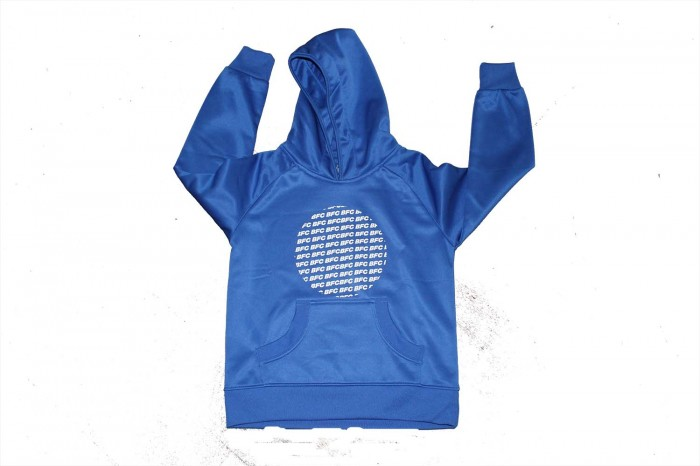 Junior Hoodie BFC Circle Logo Royal Blue