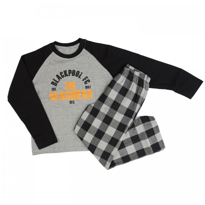 Junior Seasiders Pyjamas Grey and Black