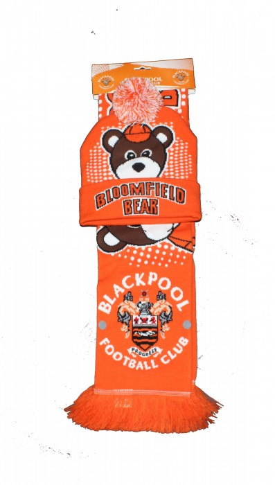 Junior Mascot Scarf and Hat Set