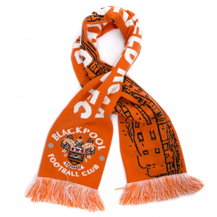 Bloomfield Road Stadium Scarf