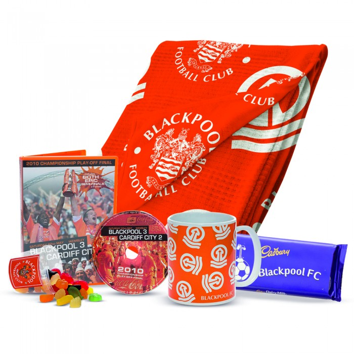 Adult Blackpool FC Stay at Home Snuggle Bundle
