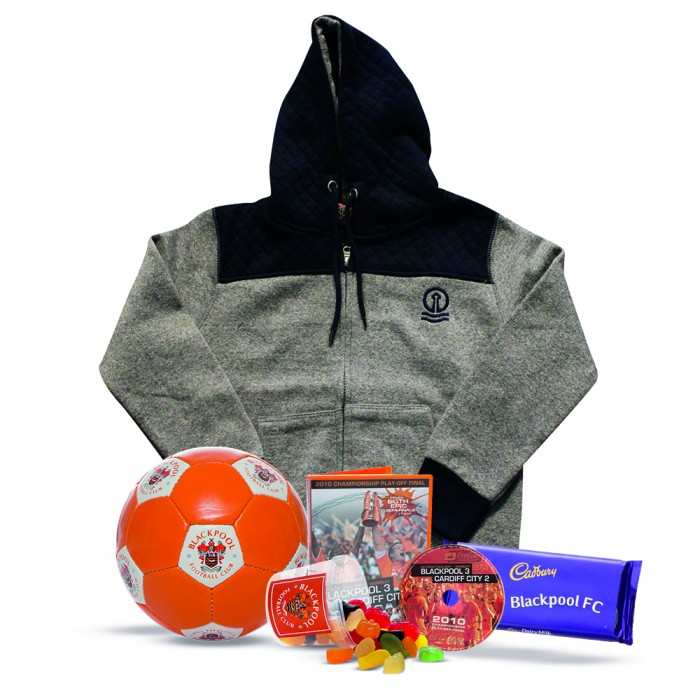 Junior Blackpool FC Stay at Home Hoodie Bundle
