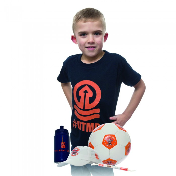 Junior Blackpool FC Holiday in your Garden Bundle