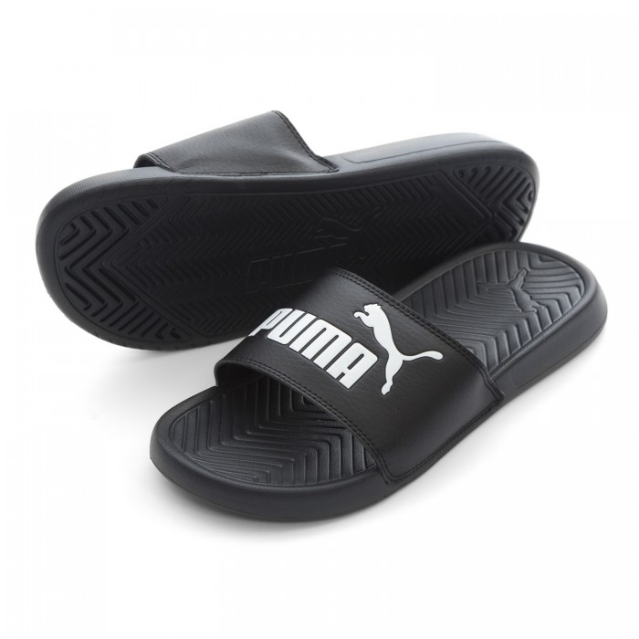 Puma Popcat Black Slides